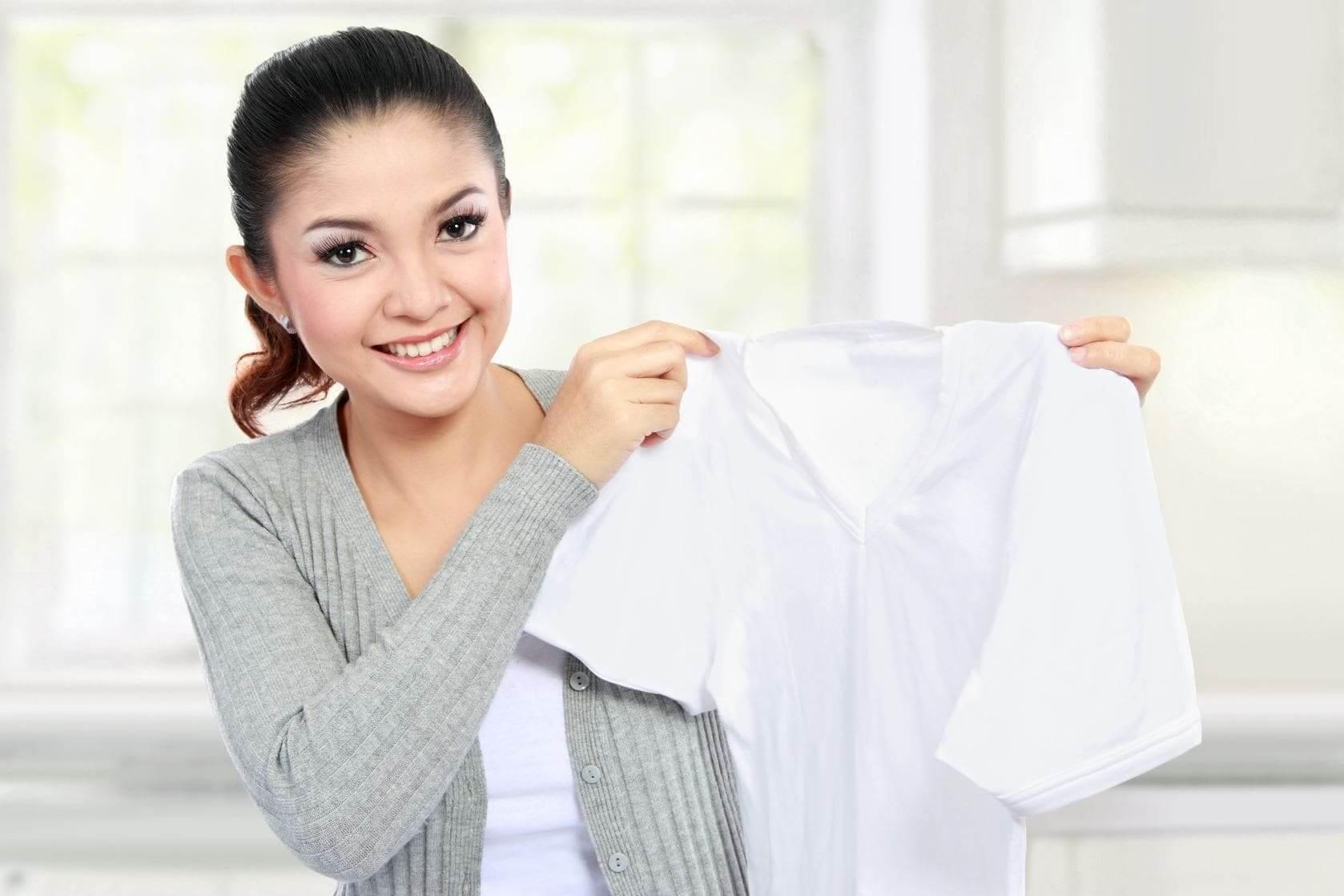 Отбелить блузку как домашних условиях