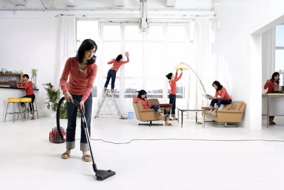 Как сделать уборку в квартире