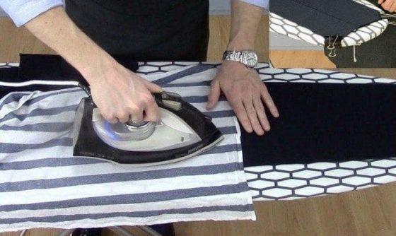 Разглаживаем брюки