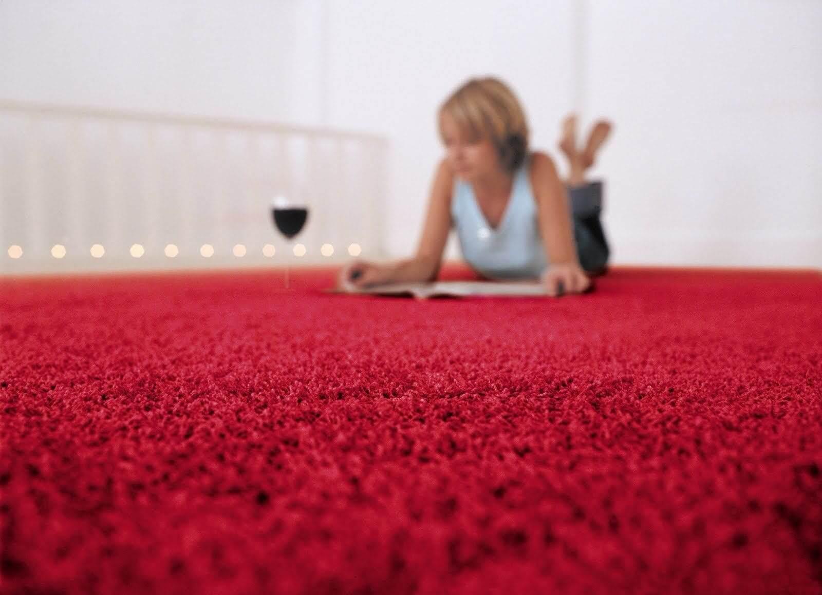 Как вернуть ковру былую форму после стирки