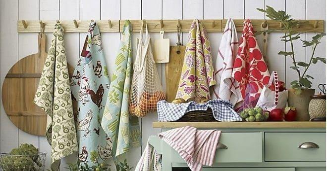 Как отстирать кухонные полотенца народными методами