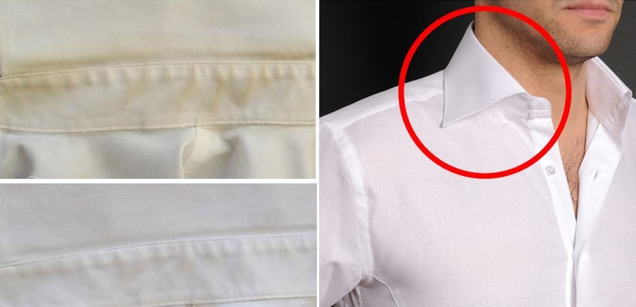 Убираем на одежде пятна от пота в домашних условиях