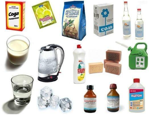 Как вывести на вещах пятна от пота в домашних условиях?