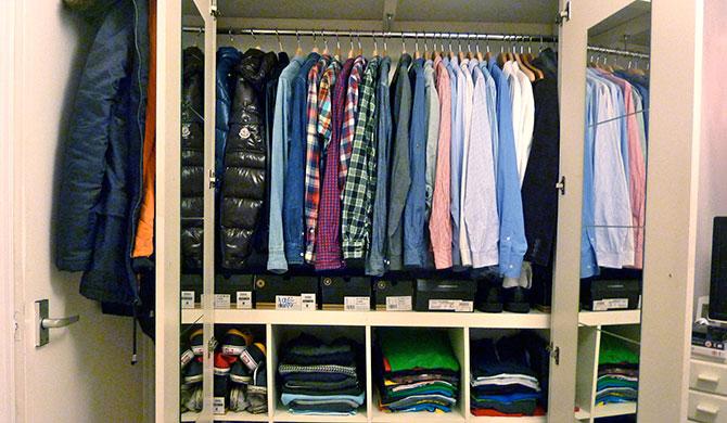 Как производится уборка в шкафу полезные советы