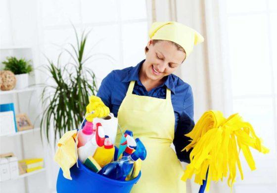 Правила уборки жилых помещений
