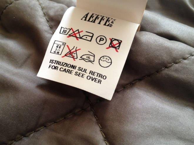 Как правильно стирать куртку на ситепоне