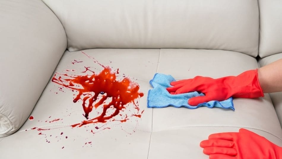 Вывести пятно крови аспирином фото