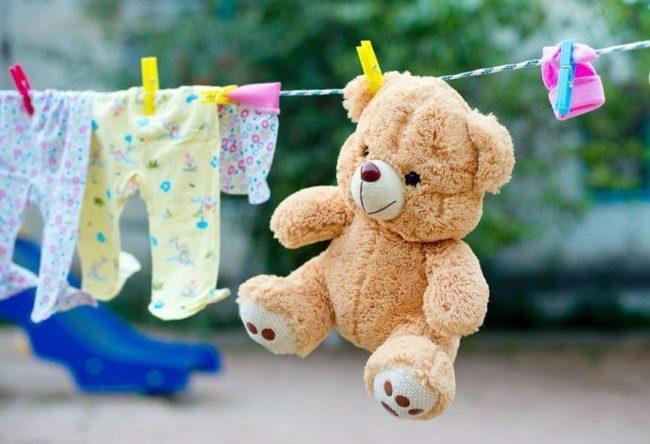 Чистка мягких игрушек, которые нельзя стирать