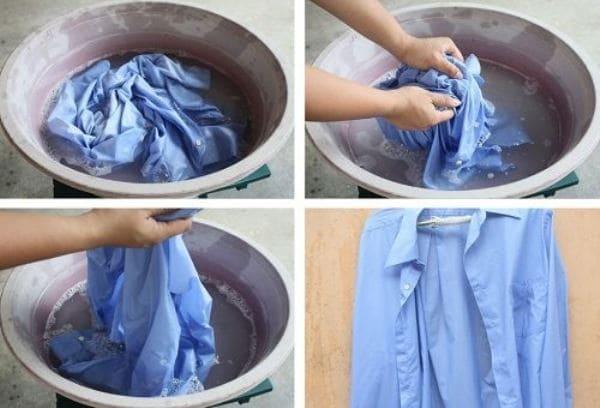 Правила стирки рубашек в машине и руками
