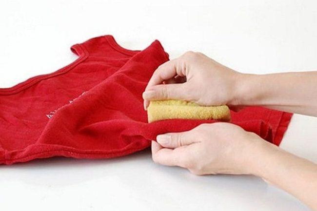 Как с одежды вывести пятно от масла с одежды