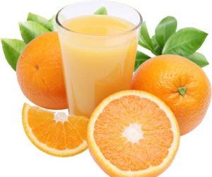 Как отстирать апельсиновое пятно