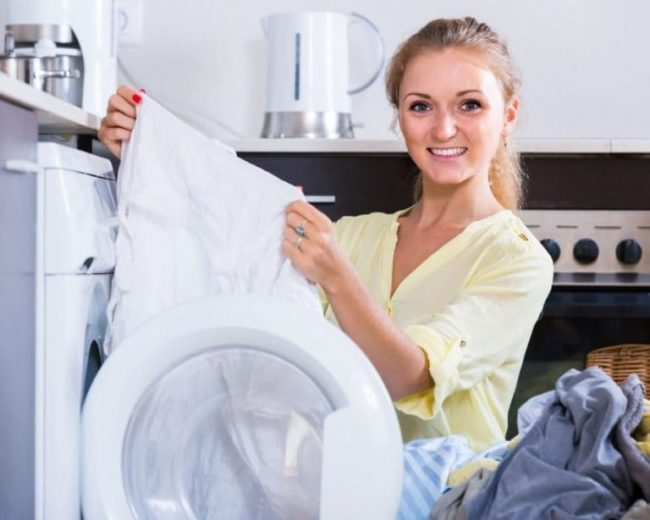 Как стирать белые вещи
