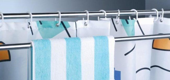 Как легко и просто отстирать шторку в ванной от ржавчины
