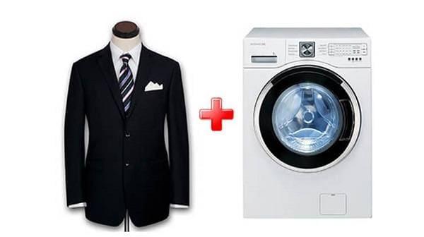 Можно ли и как правильно стирать пиджак в стиральной машине