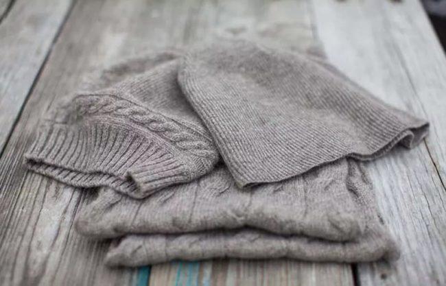 Что можно сделать, если шерстяной свитер растянулся?