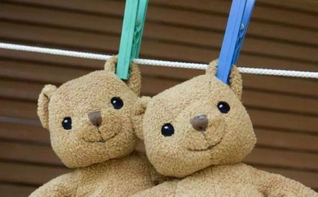 2 способа безопасной стирки подушек и игрушек антистресс