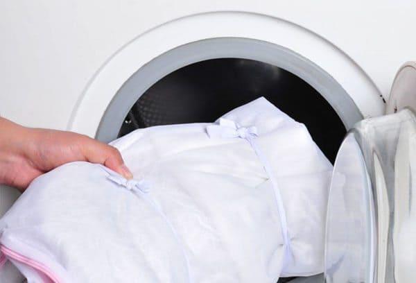 Стираем тюль в машине-автомат: выбор моющих средств, правила отбеливания