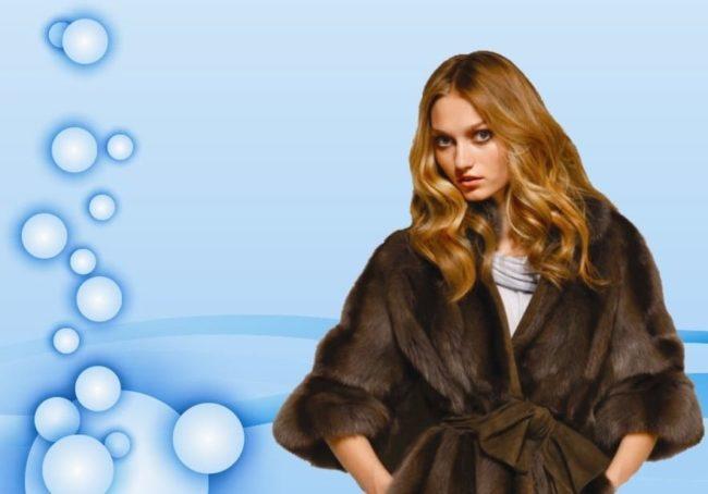 Искусственная и натуральная шуба — стирать или чистить?