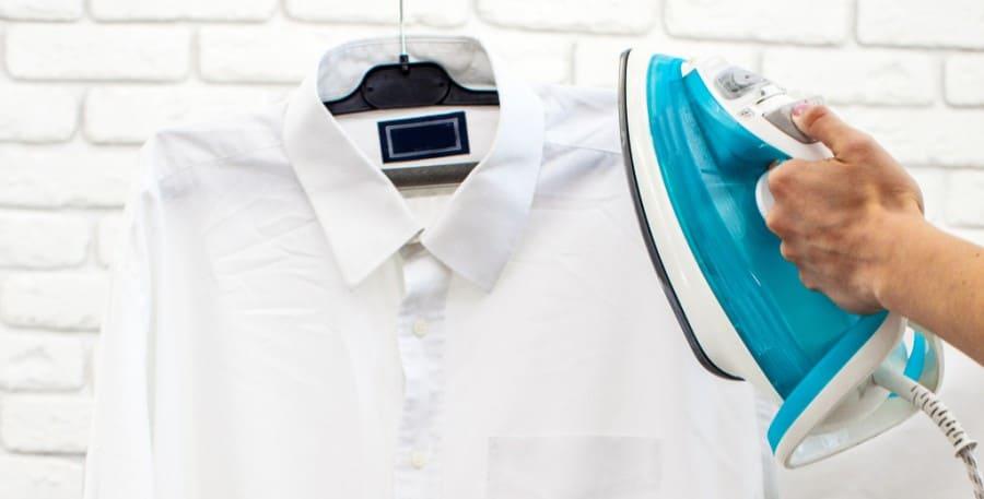 Как погладить рубашку с длинным рукавом быстро и качественно