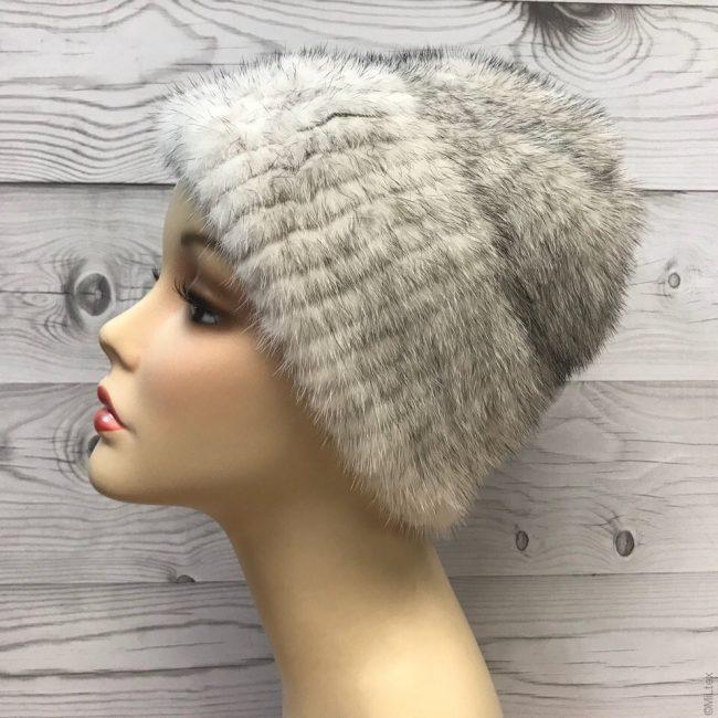 Как правильно постирать норковую вязаную шапку?