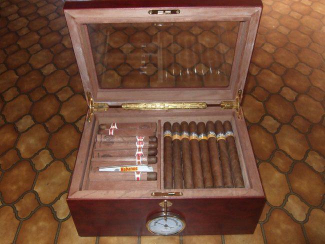 Создание условий для хранения сигар: способы и принадлежности